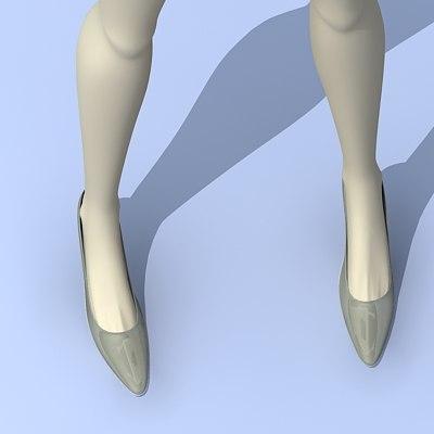 shoes 3d 3ds