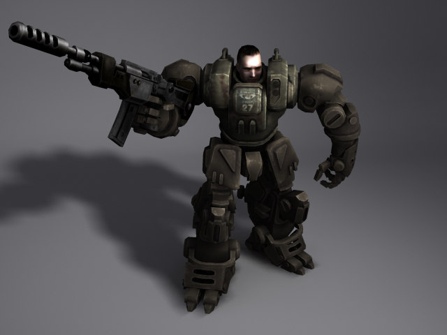 games animation 3d model