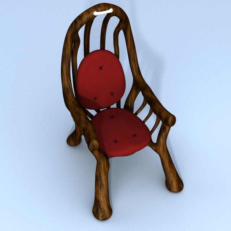 antique throne chair max