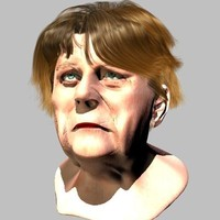 c4d portrait german satire