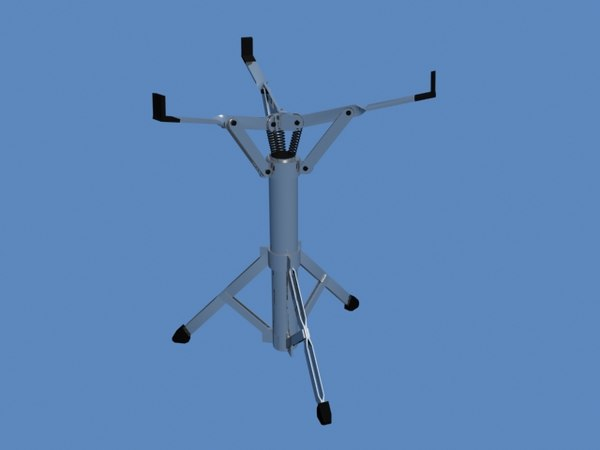 3d drum stand model
