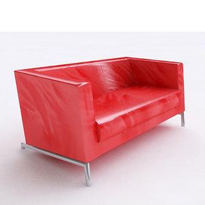 montis kubik sofa 3d max