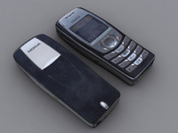 nokia 6610 mobile phone 3d ma