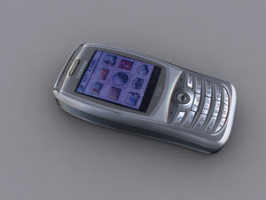 3d model nokia mobile phone st60
