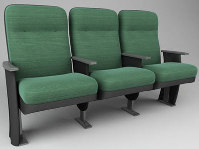marquee modular 3d model