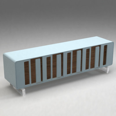 3d model chomossomo buffet moxbox