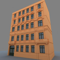 building european apartement 3d 3ds