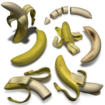 banana 3d 3ds