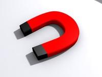 3dsmax horseshoe magnet