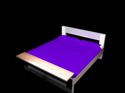 bed 3d ma