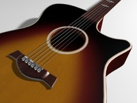 acoustic guitar dxf