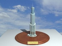 3d ethereal city construction kit model