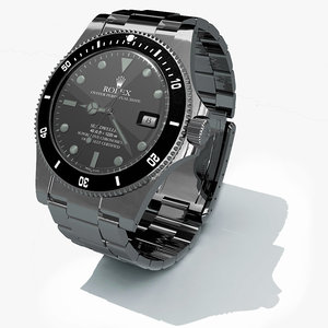 3d obj rolex replica watch