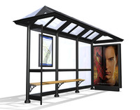 Bus shelter - traditional