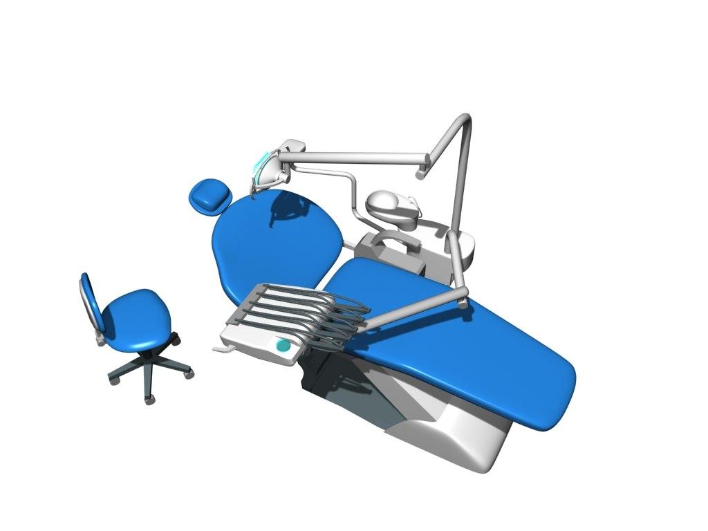 3d dental equipment model