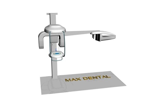digital panoramic x-ray 3d model