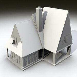 clinton cottage wedlick 3d 3ds