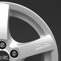 oz racing hydra wheel 3d max