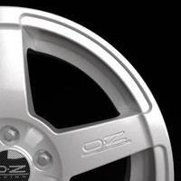 oz racing record wheel 3d model