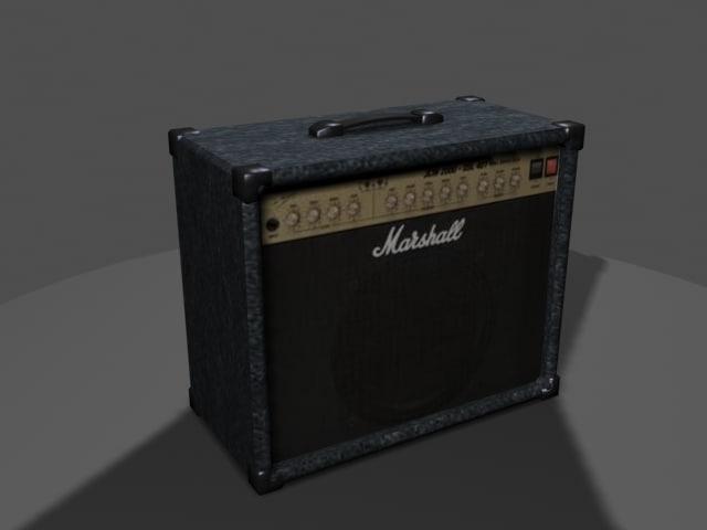 3d marshall amp