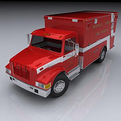 rescue van 3d model