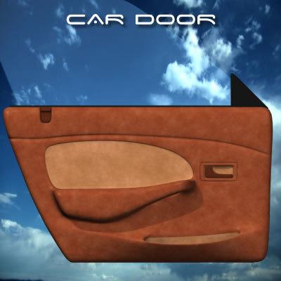 auto interior door 3d model