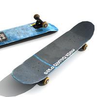 Low Poly Skateboard