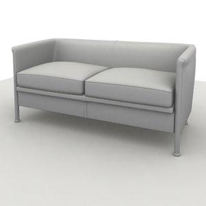 sofa club 2 3d model