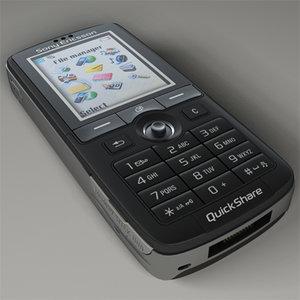 3d sony ericsson k750i model