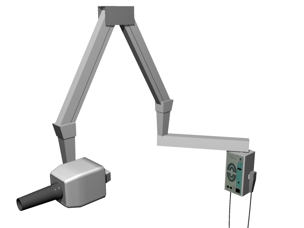 3d model dental unit