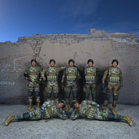 Lowpoly Us Ranger USMC