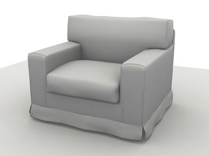 3ds chair sofa