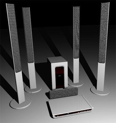 3d sony dav-sr4w model