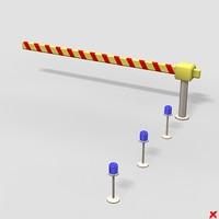 3dsmax barrier