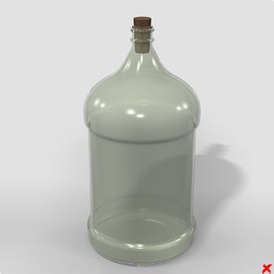 3ds max bottle