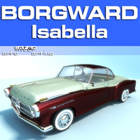 3d german borgward isabella model
