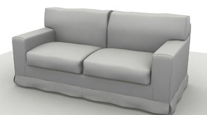 3ds max sofa america 2 pillow