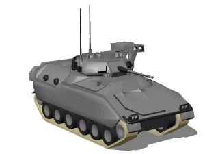 m-2 bradley tank 3d 3ds