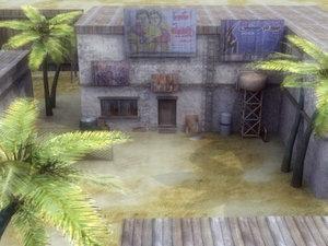 arab street environment 3d model