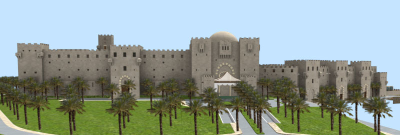 free lighting rendering 3d model