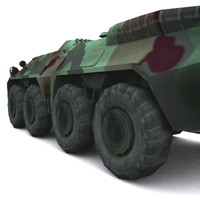 3ds max russian apc army