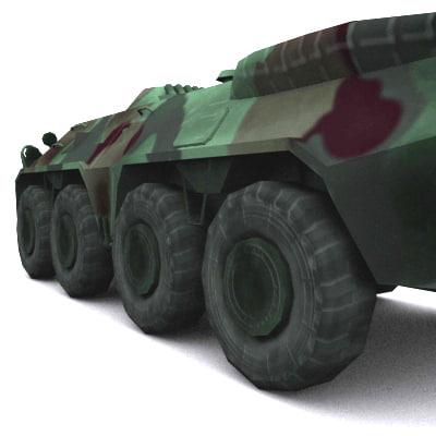 3ds max russian apc army
