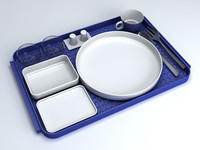 AIRLINES MEAL SET 1980 STYLE