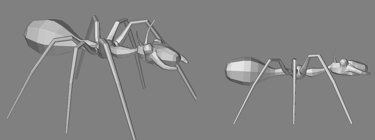free obj mode ant