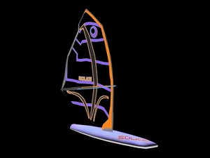 3d windsurfer gaming
