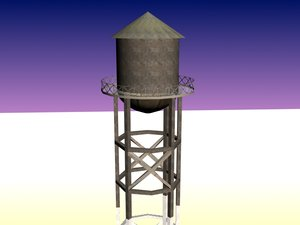 3d watertower gaming
