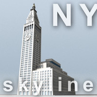 NY skyline - metlife tower.zip