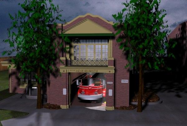 3d station 7 model