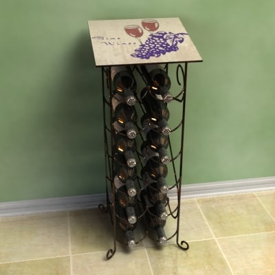 lwo stand wine bottles
