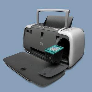 3d hp printer photosmart 420 model